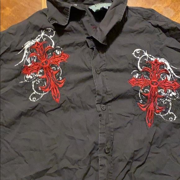 Roar Other - Men's button down western shirt.